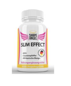 Slim Effect - Appetithemmer und Fatburner - Speziell für Frauen - BURNER - Appetit Control - HCA - Garcinia Cambogia - Afrikanische Mango - Cayennepfeffer - Ceylon Zimt - Ingwer - Guarana - Grüner Tee - Vitamin Appetitzügler